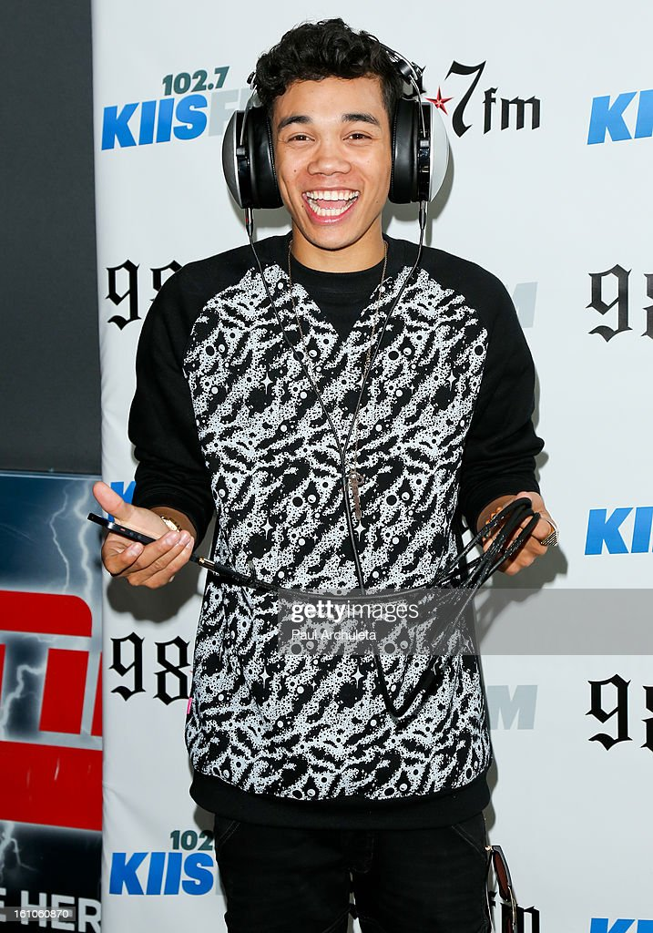 Actor Roshon Fegan attends the 102.7 KIIS FM and 98.7 5th annual celebrity artist lounge celebrating the 55th Annual GRAMMYS at ESPN Zone At L.A. Live on February 8, 2013 in Los Angeles, California.