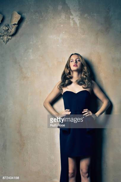 Actor Rosie Fortescue is photographed on September 11 2014 in London England