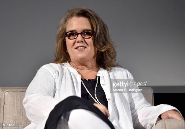 Actor Rosie O'Donnell of 'SMILF' speaks onstage at the Showtime portion of the 2017 Summer Television Critics Association Press Tour on August 7 2017...