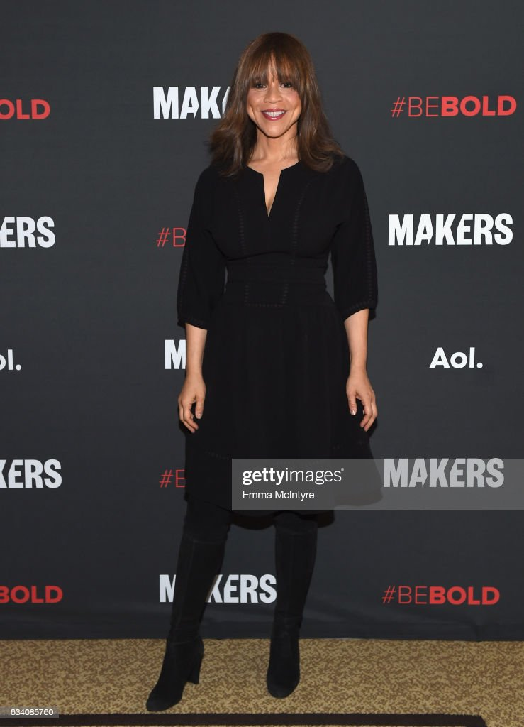 Actor Rosie Perez attends the 2017 MAKERS Conference Day 1 at Terranea Resort on February 6, 2017 in Rancho Palos Verdes, California.