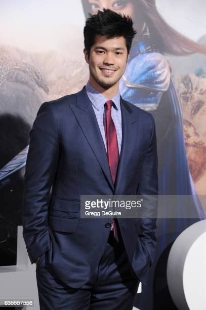 Actor Ross Butler arrives at the premiere of Universal Pictures' 'The Great Wall' at TCL Chinese Theatre IMAX on February 15 2017 in Hollywood...