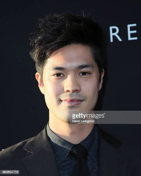 Actor Ross Butler attends the premiere of Netflix's '13 Reasons Why' at Paramount Pictures on March 30 2017 in Los Angeles California