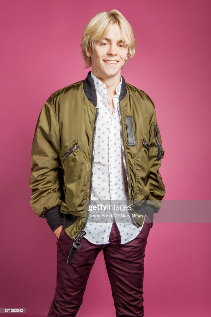 Actor Ross Lynch photographed for NY Daily News on April 21, 2017, in New York City.