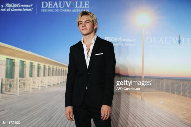 US actor Ross Lynch poses during a photocall for the movie 'My friend Dahmer' on September 8 2017 in the northwestern sea resort of Deauville during...