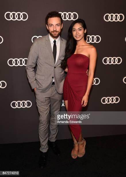 Actor Ross Marquand arrives at the Audi Celebrates The 69th Emmys party at The Highlight Room at the Dream Hollywood on September 14 2017 in...