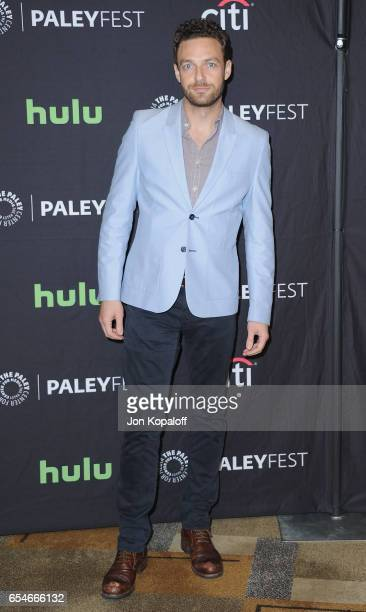 Actor Ross Marquand arrives at The Paley Center For Media's 34th Annual PaleyFest Los Angeles Opening Night Presentation 'The Walking Dead' at Dolby...