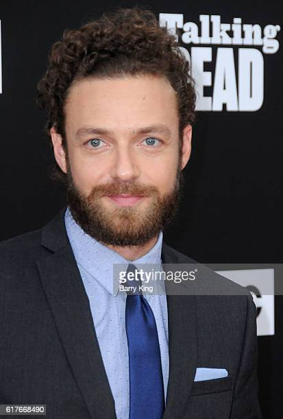 Actor Ross Marquand attends AMC Presents Live 90Minute Special Edition of 'Talking Dead' at Hollywood Forever on October 23 2016 in Hollywood...
