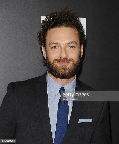 Actor Ross Marquand attends the live 90minute special edition of 'Talking Dead' at Hollywood Forever on October 23 2016 in Hollywood California