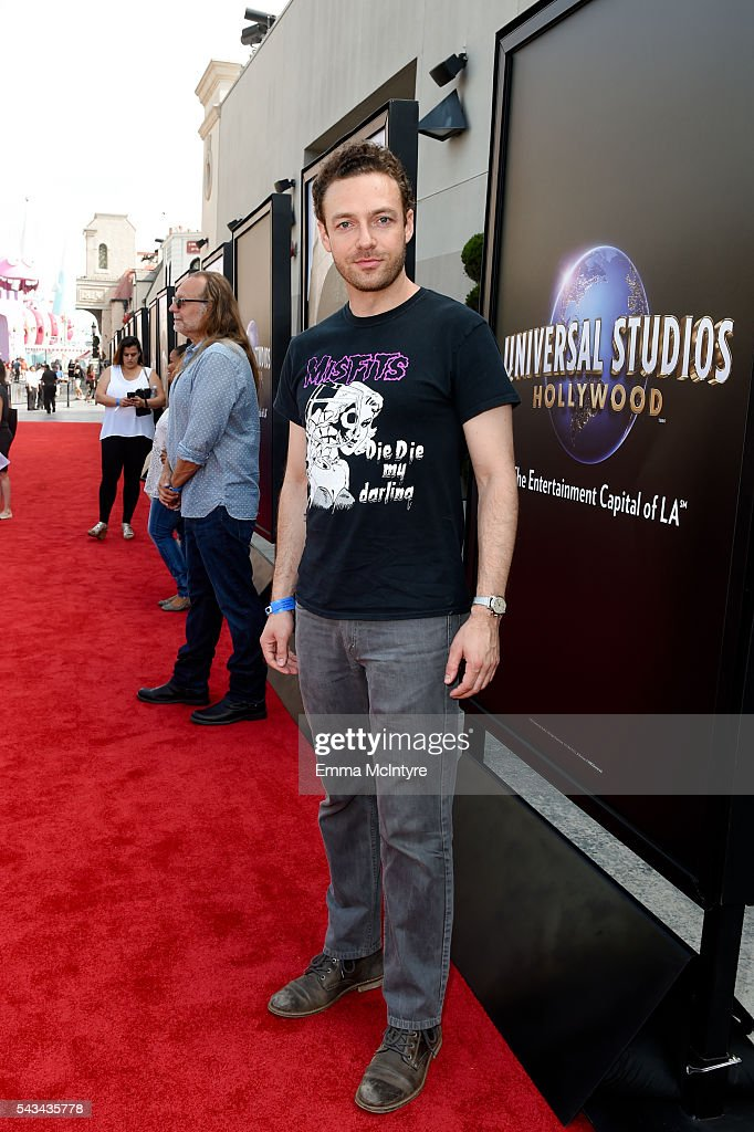 Actor <a gi-track='captionPersonalityLinkClicked' href=/galleries/search?phrase=Ross+Marquand&family=editorial&specificpeople=7580208 ng-click='$event.stopPropagation()'>Ross Marquand</a> attends the press event for 'The Walking Dead' attraction 'Don't Open, Dead Inside' at Universal Studios Hollywood on June 28, 2016 in Universal City, California.