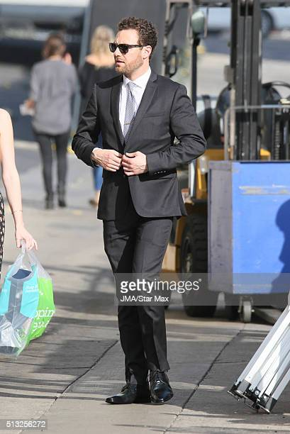 Actor Ross Marquand is seen on March 1 2016 Los Angeles CA