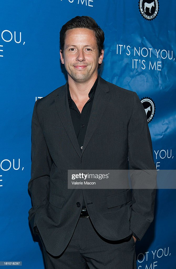 Actor <a gi-track='captionPersonalityLinkClicked' href=/galleries/search?phrase=Ross+McCall&family=editorial&specificpeople=841996 ng-click='$event.stopPropagation()'>Ross McCall</a> arrives at the premiere of 'It's Not You, It's Me' at Downtown Independent Theatre on September 18, 2013 in Los Angeles, California.