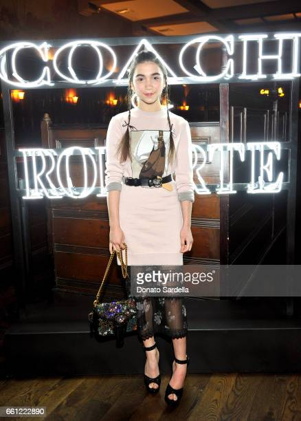Actor Rowan Blanchard attends the Coach Rodarte celebration for their Spring 2017 Collaboration at Musso Frank on March 30 2017 in Hollywood...