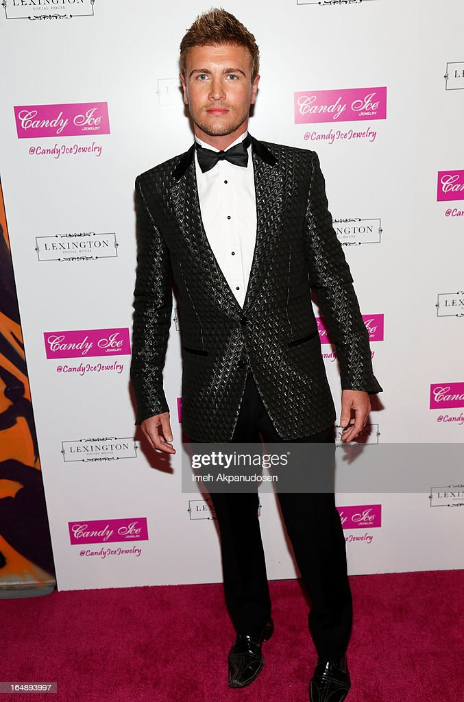 Actor Rowly Dennis attends the Fire & Ice Gala Benefiting Fresh2o at Lexington Social House on March 28, 2013 in Hollywood, California.