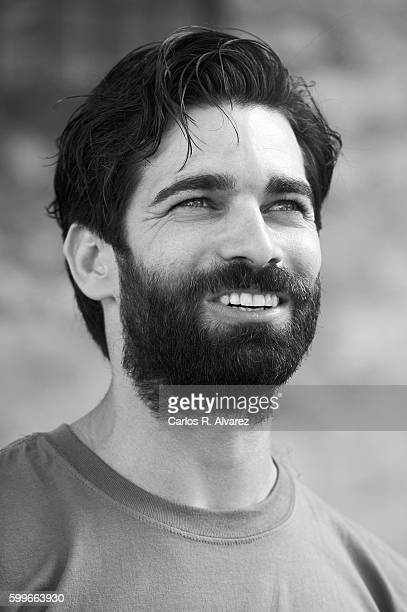 Actor Ruben Cortada attends 'Olmos y Robles' photocall during FesTVal 2016 Day 2 Televison Festival on September 6 2016 in VitoriaGasteiz Spain