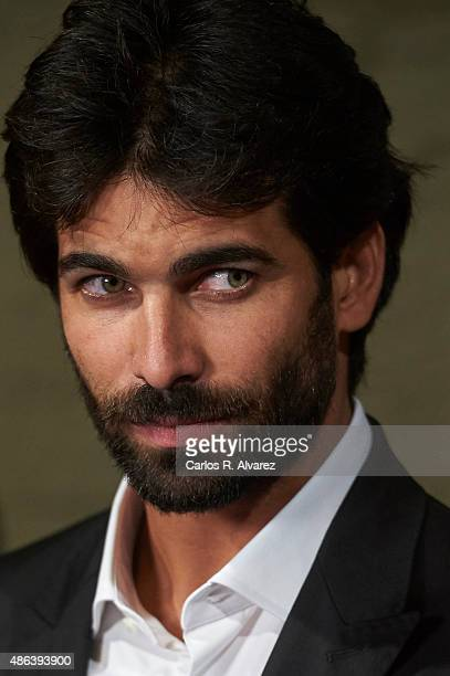 Actor Ruben Cortada attends the 'Olmos Y Robles' premiere during the 7th FesTVal Television Festival 2015 at the Principal Theater on September 3...
