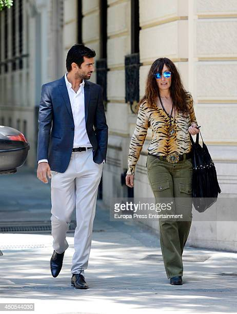 Actor Ruben Cortada is seen on May 29 2014 in Madrid Spain