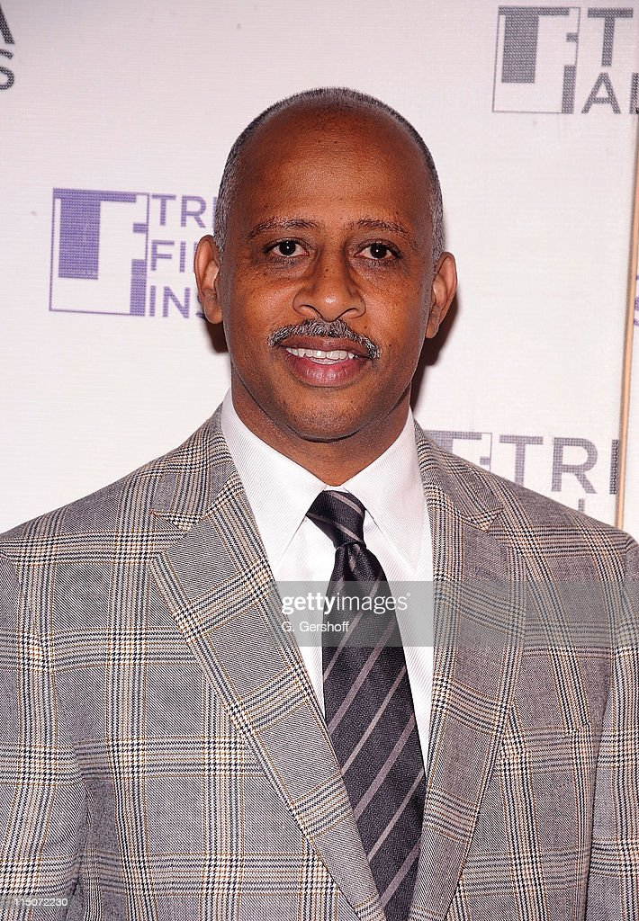 Actor Ruben Santiago Hudson attends the TAA Kick Off Event at the 9th Annual Tribeca Film Festival at Hiro Ballroom at The Maritime Hotel on April 19...
