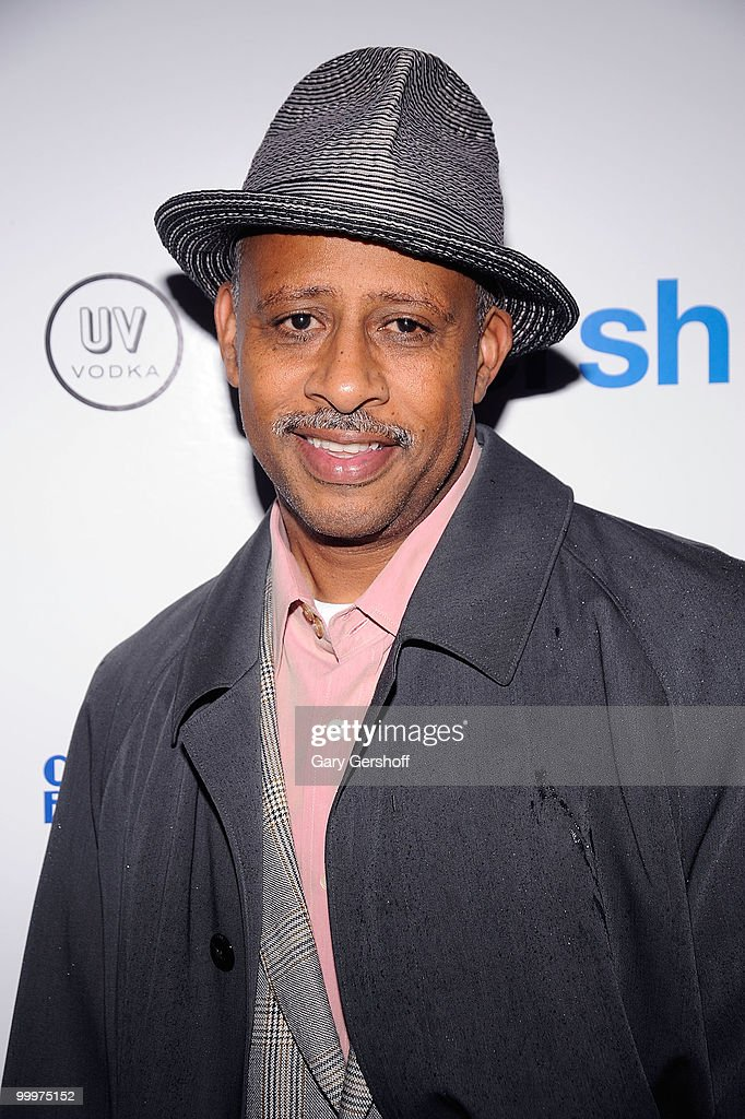 Actor Ruben SantiagoHudson attends the Gersh Agency's 2010 UpFronts and Broadway season cocktail celebration at Juliet Supper Club on May 18 2010 in...
