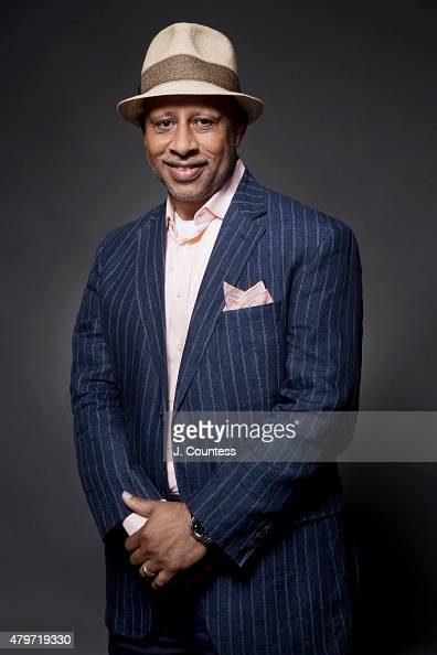 Actor Ruben SantiagoHudson poses for a portrait at the American Black Film Festival on June 12 2015 in New York City