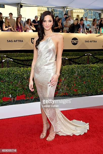 Actor Ruby Modine attends the 23rd Annual Screen Actors Guild Awards at The Shrine Expo Hall on January 29 2017 in Los Angeles California