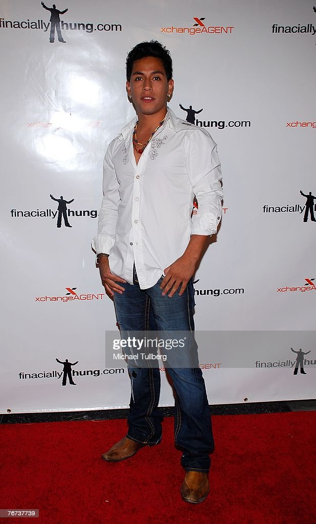 Actor Rudy Youngblood arrives at the Financially Hung's Black Card Launch Party at the Vice nightclub on September 13, 2007 in Los Angeles, California.