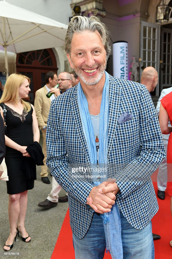 Actor Rufus Beck attends the Bavaria Reception during the Munich Film Festival 2014 on July 1, 2014 in Munich, Germany.