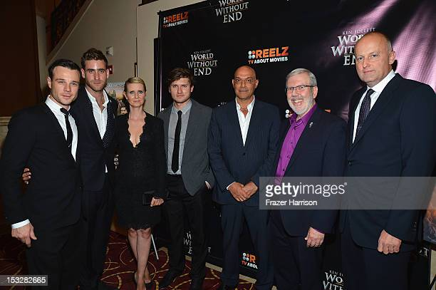 Actor Rupert Evans actor Oliver JacksonCohen actress Cynthia Nixon actor Tom WestonJones Yossi Dina critic Leonard Maltin and CEO of ReelzChannel...