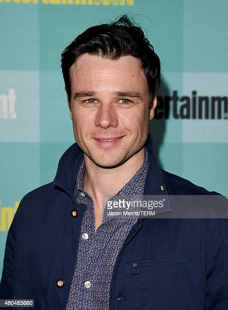 Actor Rupert Evans attends Entertainment Weekly's ComicCon 2015 Party sponsored by HBO Honda Bud Light Lime and Bud Light Ritas at FLOAT at The Hard...