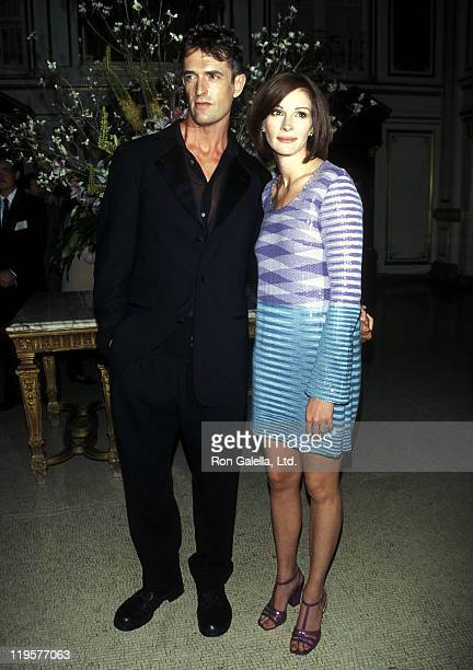 Actor Rupert Everett and actress Julia Roberts attend the 'My Best Friend's Wedding' Premiere Party on June 17 1997 at The Plaza Hotel in New York...