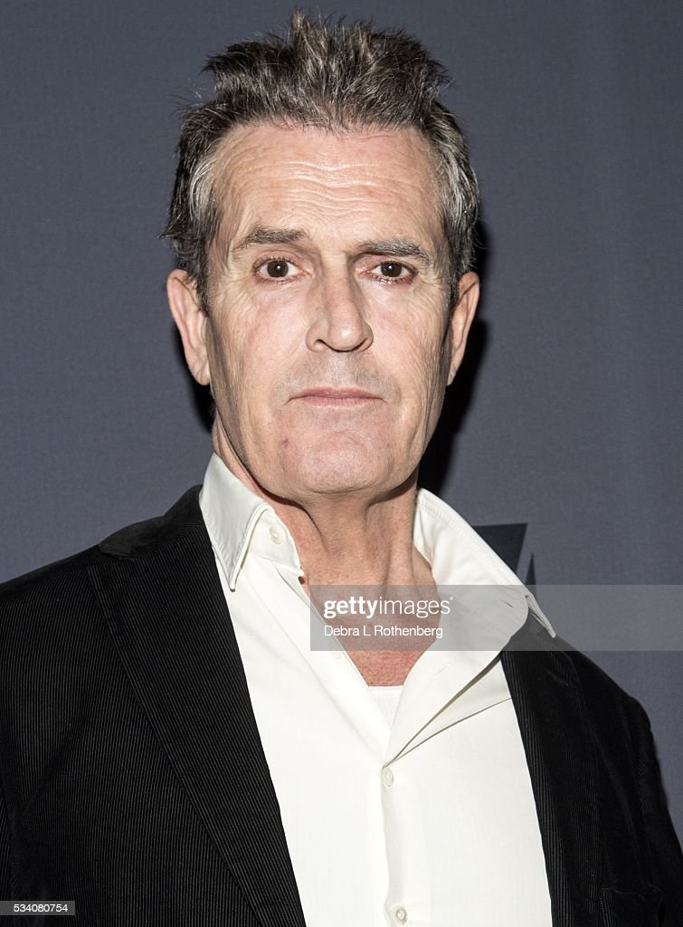 Actor Rupert Everett attends the Benefit Celebration after his ...