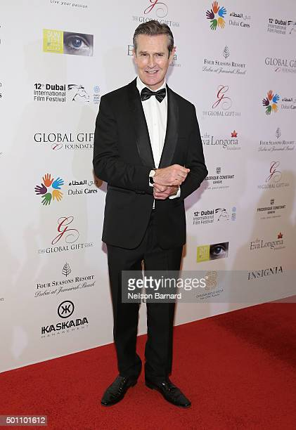Actor Rupert Everett attends the Global Gift Gala during day four of the 12th annual Dubai International Film Festival held at the Four Seasons Hotel...