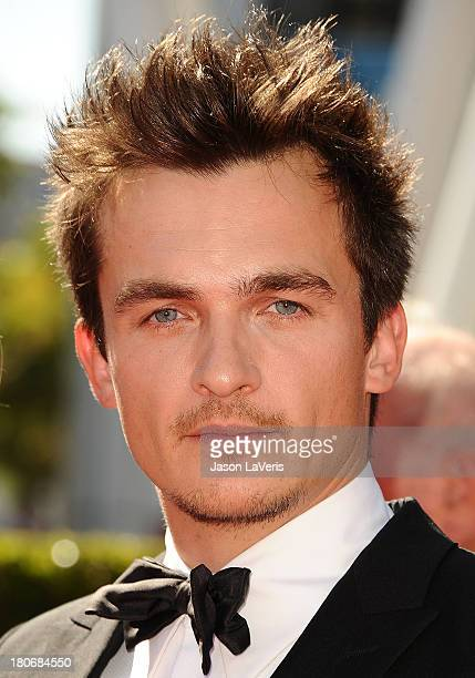 Actor Rupert Friend attends the 2013 Creative Arts Emmy Awards at Nokia Theatre LA Live on September 15 2013 in Los Angeles California