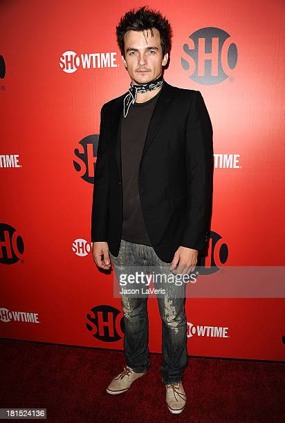 Actor Rupert Friend attends the Showtime Emmy eve soiree at Sunset Tower on September 21 2013 in West Hollywood California