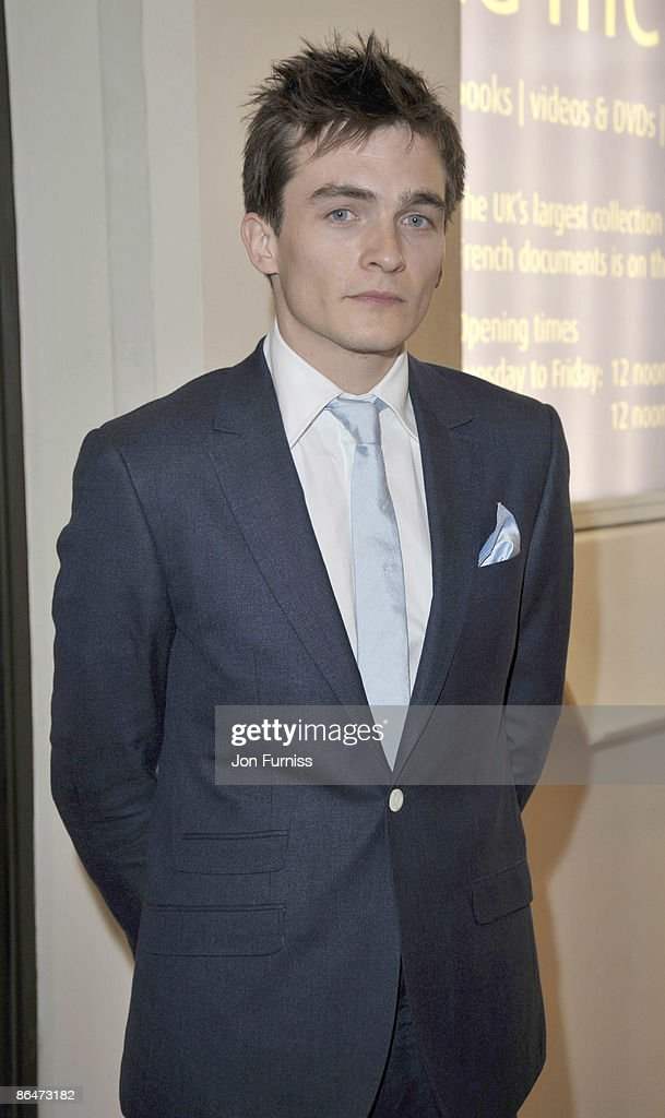 Actor Rupert Friend attends the UK premiere of 'Cheri' at Cine lumiere on May 6, 2009 in London, England.