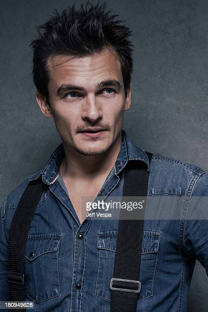 Actor Rupert Friend is photographed at the Toronto Film Festival on September 10 2013 in Toronto Ontario