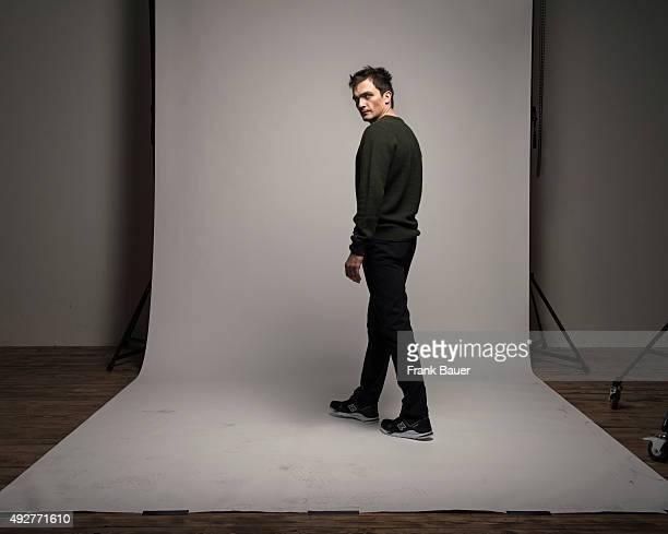 Actor Rupert Friend is photographed for the Guardian on June 25 2015 in Berlin Germany