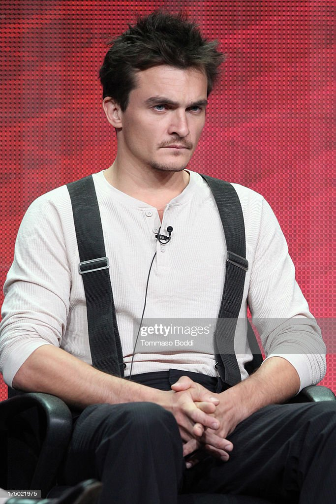Actor <a gi-track='captionPersonalityLinkClicked' href=/galleries/search?phrase=Rupert+Friend&family=editorial&specificpeople=830314 ng-click='$event.stopPropagation()'>Rupert Friend</a> of the TV show 'Homeland' attends the Television Critic Association's Summer Press Tour - CBS/CW/Showtime panels held at The Beverly Hilton Hotel on July 29, 2013 in Beverly Hills, California.