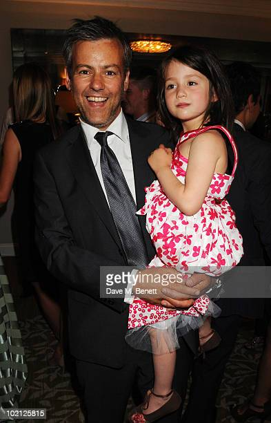 Actor Rupert Graves and daughter Ella Graves attend the English National Ballet Cocktail Reception at The Dorchester on June 15 2010 in London England