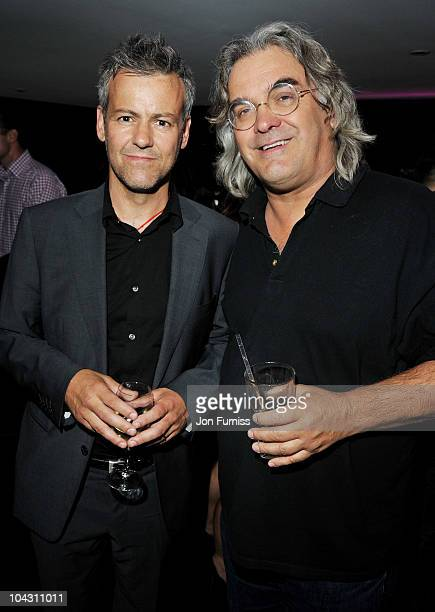 Actor Rupert Graves and director Paul Greengrass attend the 'Made In Dagenham' world premiere after party at Floridita on September 20 2010 in London...
