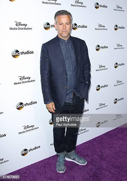 Actor Rupert Graves attends the Disney Media Distribution International Upfronts at Walt Disney Studios on May 17 2015 in Burbank California