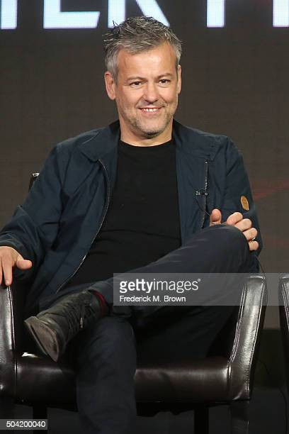 Actor Rupert Graves speaks onstage during ABC's The Family panel as part of the ABC Networks portion of the 2016 Television Critics Association...