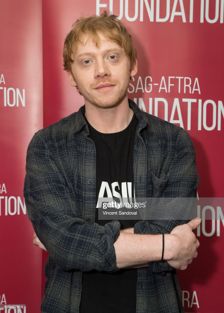 Actor Rupert Grint attends SAG-AFTRA Foundation's Conversations with 'Snatch' at SAG-AFTRA Foundation Screening Room on March 7, 2017 in Los Angeles, California.