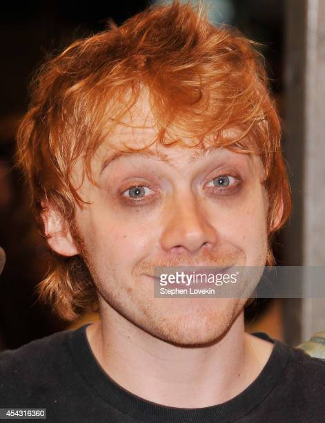 Actor Rupert Grint attends the 'It's Only A Play' first performance at The Schoenfeld Theatre on August 28 2014 in New York City