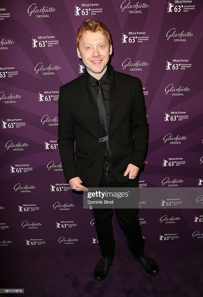 Actor Rupert Grint attends 'The Necessary Death Of Charlie Countryman' Reception during the 63rd Berlinale International Film Festival at the...