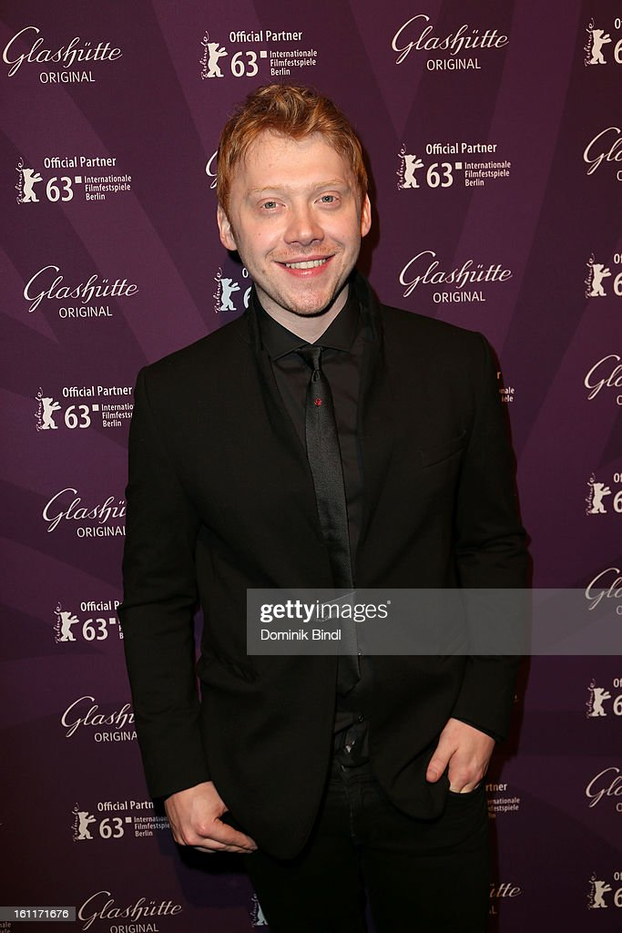 Actor Rupert Grint attends 'The Necessary Death Of Charlie Countryman' Reception during the 63rd Berlinale International Film Festival at the Glashuette Lounge on February 9, 2013 in Berlin, Germany.
