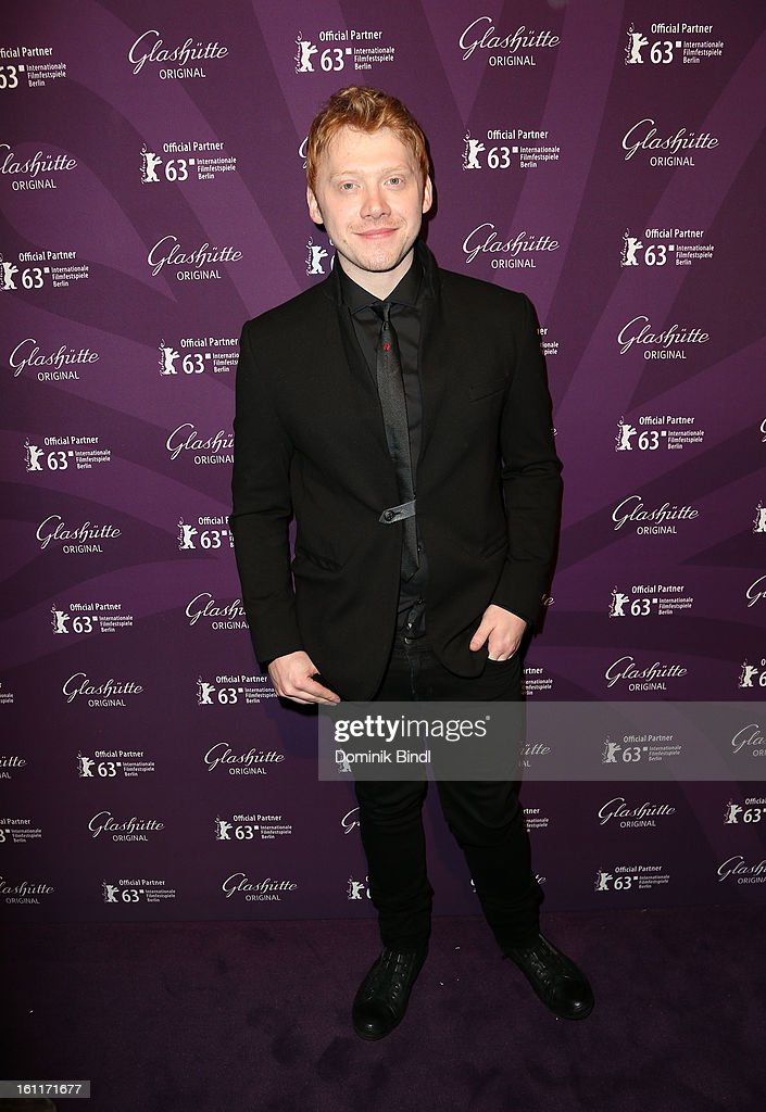Actor <a gi-track='captionPersonalityLinkClicked' href=/galleries/search?phrase=Rupert+Grint&family=editorial&specificpeople=206605 ng-click='$event.stopPropagation()'>Rupert Grint</a> attends 'The Necessary Death Of Charlie Countryman' Reception during the 63rd Berlinale International Film Festival at the Glashuette Lounge on February 9, 2013 in Berlin, Germany.