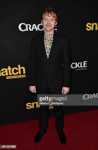 Actor Rupert Grint attends the premiere screening of Cackle's 'Snatch' the series at Arclight Cinemas Culver City on March 9 2017 in Culver City...