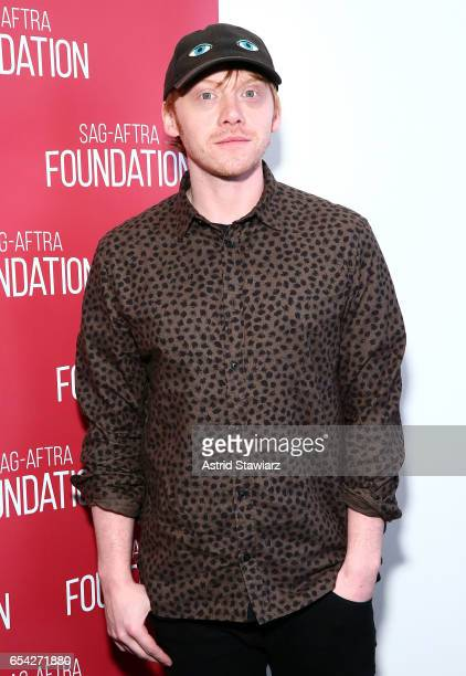 Actor Rupert Grint attends the SAGAFTRA foundation conversation for 'Snatch' at the Robin Williams Center on March 16 2017 in New York City