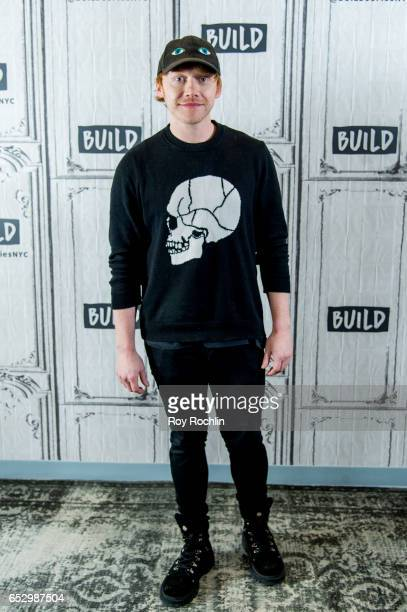 Actor Rupert Grint discuss 'Snatch' with the Build Series at Build Studio on March 13 2017 in New York City