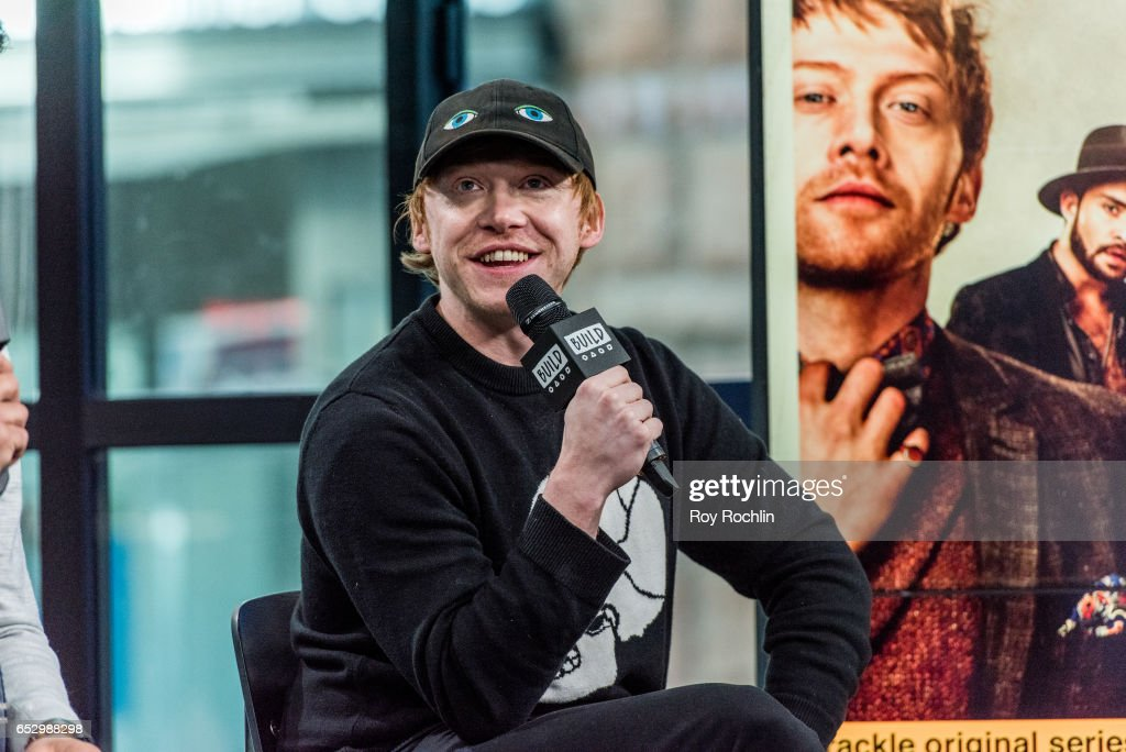 Actor Rupert Grint discuss 'Snatch' with the Build Series at Build Studio on March 13, 2017 in New York City.